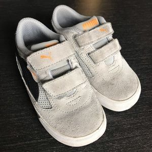 Puma Toddler's Suede Velcro Sneakers